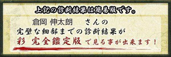 倉岡 伸太朗さんの診断結果 - 姓名判断 彩